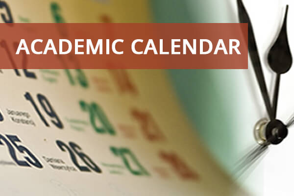 Click to see the current Academic Calendar