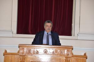 Χαιρετισμός από τον Πρύτανη του Οικονομικού  Πανεπιστημίου Αθηνών, Καθηγητή Εμμανουήλ Γιακουμάκη
