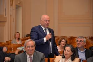 Χαιρετισμός από τον Καθηγητή Γ. Ζανιά, Οικονομικό Πανεπιστήμιο Αθηνών