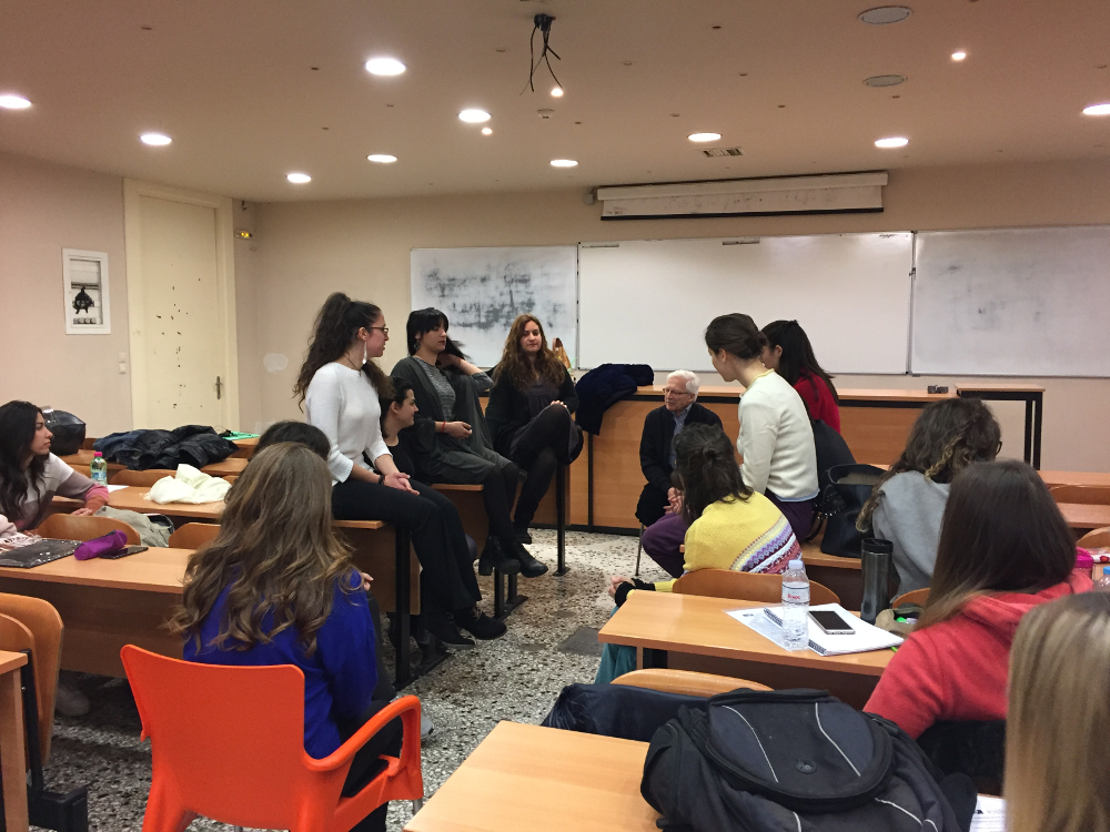 Μαθήματα ζωής στα σχολεία, Συζήτηση με τον κύριο Π. Παπαδόπουλο - 29/3/2019