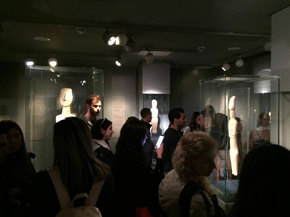 Εκπαιδευτικό Πρόγραμμα, Μουσείο Κυκλαδικής Τέχνης 27/3/2019