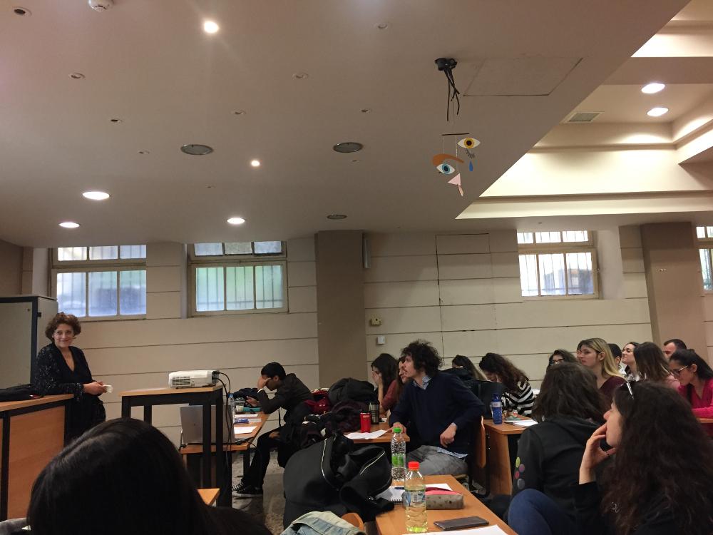 Τέχνη και Εκπαίδευση,Συζητηση αναφορικά με έργο τέχνης 19/4/2019<br />