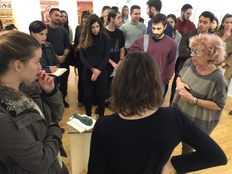Έρευνα πεδίου,Γκαλερί Αντωνοπούλου - 12/12/2018